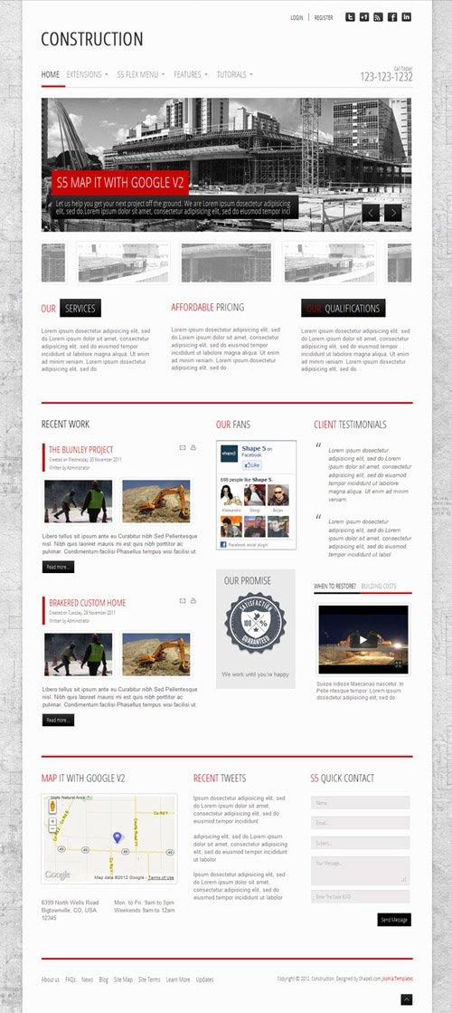 Shape5 - Construction v1.0 - WordPress Theme