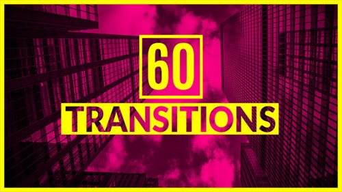 60 Transitions - Project for After Effects (Videohive)