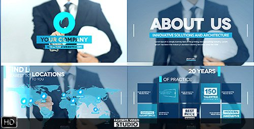 Future of Architecture - Project for After Effects (Videohive)