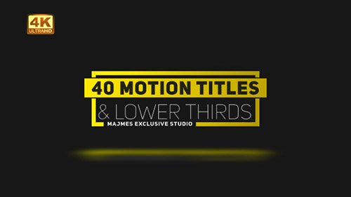 Titles 21042915 - Project for After Effects (Videohive)