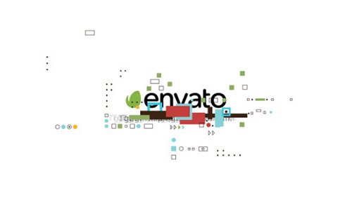 Shape Glitch Logo - Project for After Effects (Videohive)
