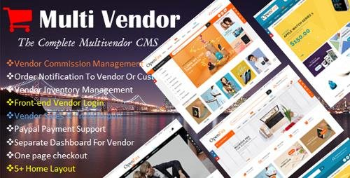CodeCanyon - Ecommerce Multi-Vendor Website Builder - The