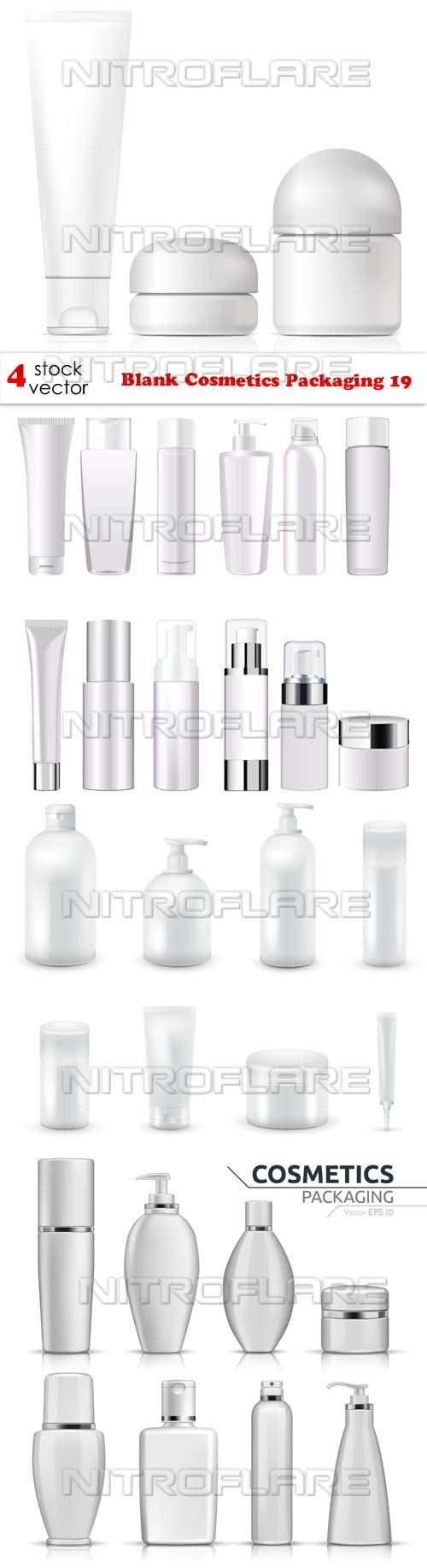 Vectors - Blank Cosmetics Packaging 19
