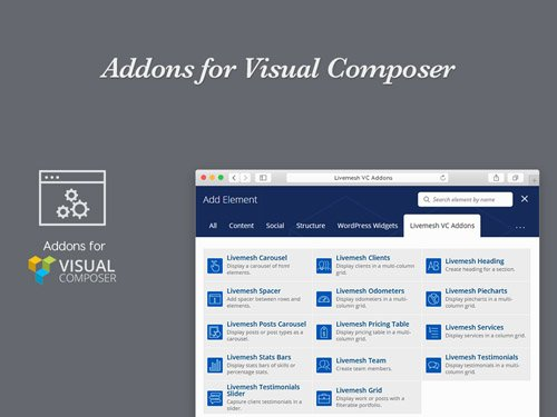 Addons for Visual Composer Pro v1.8.1
