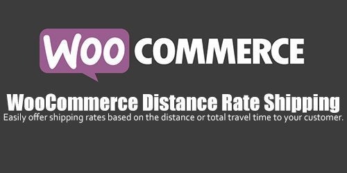 WooCommerce - Distance Rate Shipping v1.0.8