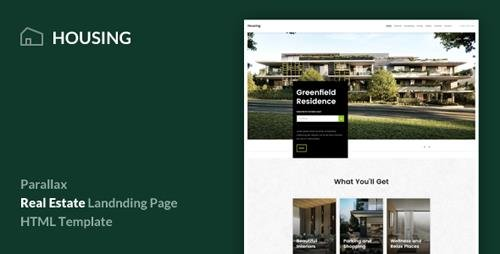 ThemeForest - Housing v1.0 - Real Estate Landing Page Template - 20972193