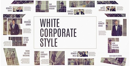 Corporate White - Project for After Effects (Videohive)