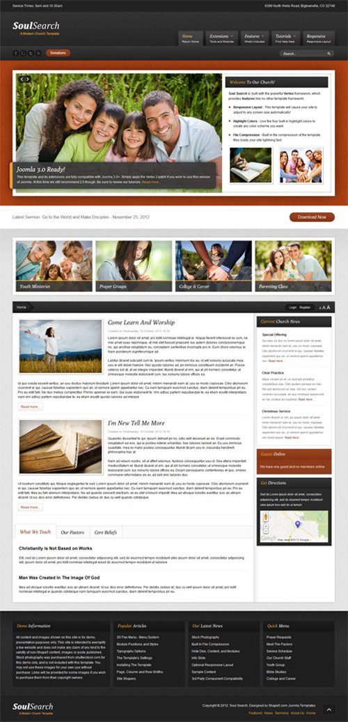 Shape5 - Soul Search v2.0 - WordPress Theme