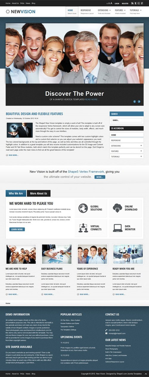 Shape5 - New Vision v2.0 - WordPress Theme