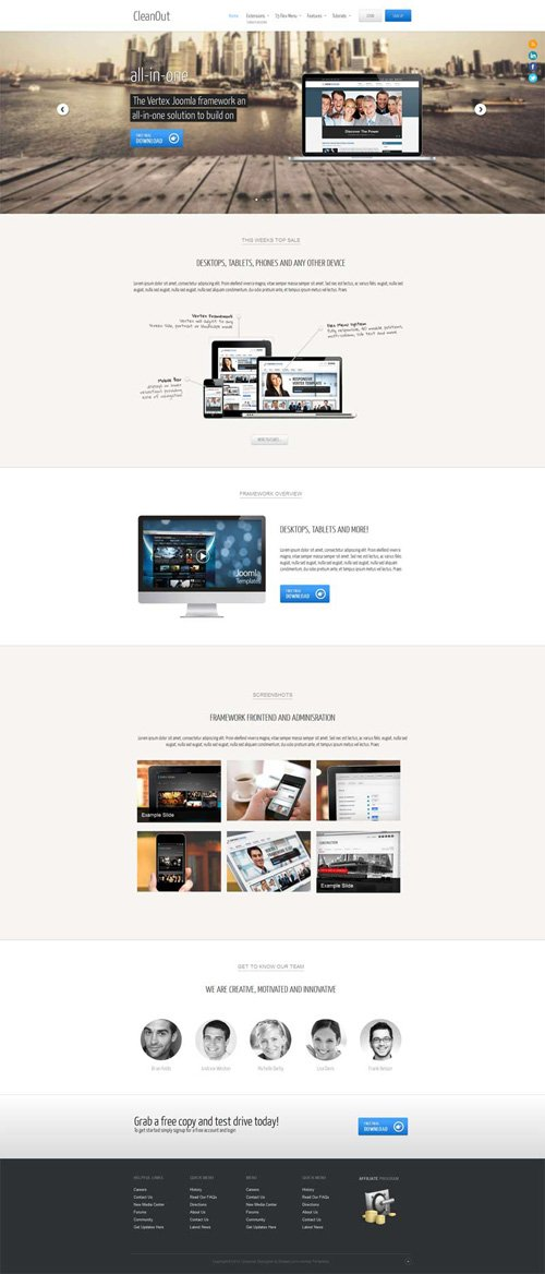 Shape5 - CleanOut v3.0 - WordPress Theme