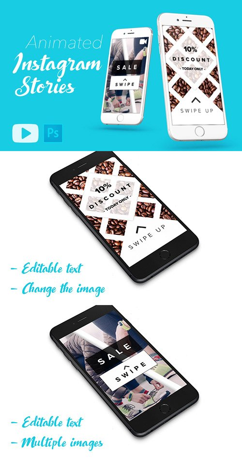 ANIMATED Instagram Stories Template - CM 2115391