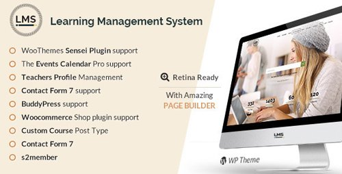 ThemeForest - LMS v4.9.3 - Learning Management System, Education LMS WordPress Theme - 7867581