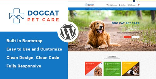 ThemeForest - Pet Care v1.3 - Veterinary WordPress Theme - 14815649