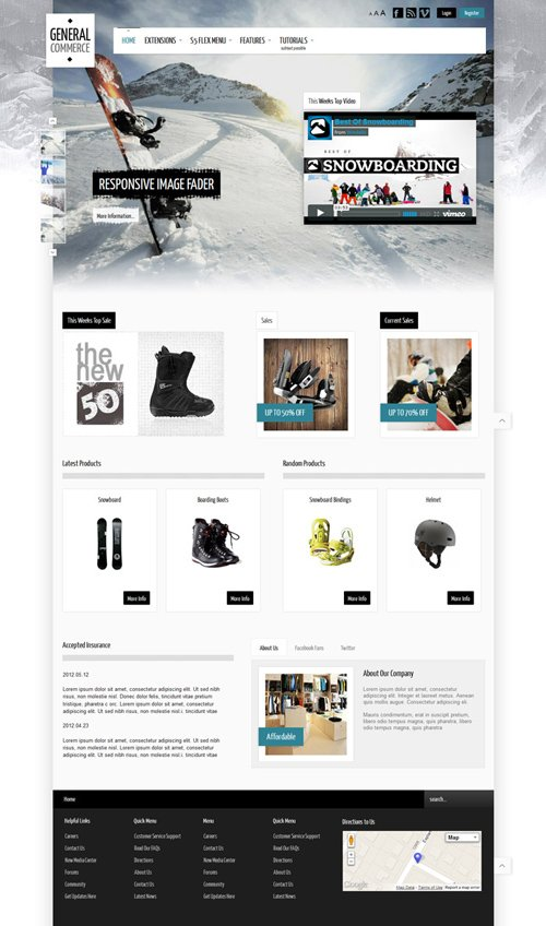Shape5 - General Commerce v2.0 - WordPress Theme