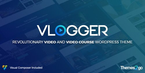 ThemeForest - Vlogger v1.4.2 - Professional Video Tutorials WordPress Theme - 20414115