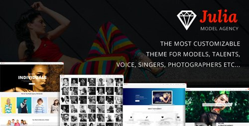 ThemeForest - Julia v1.6.9 - Talent Management WordPress Theme - 13291157