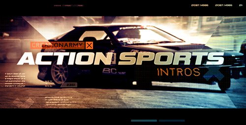 Action Sports Intro - Project for After Effects (Videohive)