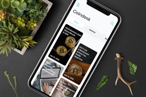 Cryptocurrencies News Mobile Ui - T