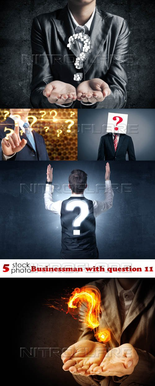 Photos - Businessman with question 11