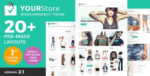 ThemeForest - YourStore v2.1 - Woocommerce theme - 16912793