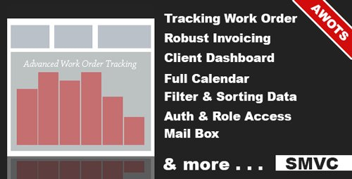 CodeCanyon - Advanced Work Order Tracking System v1.2 - 17619344