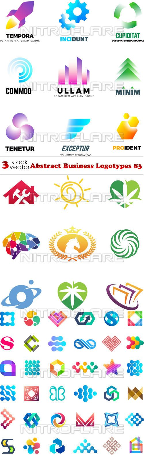 Vectors - Abstract Business Logotypes 83