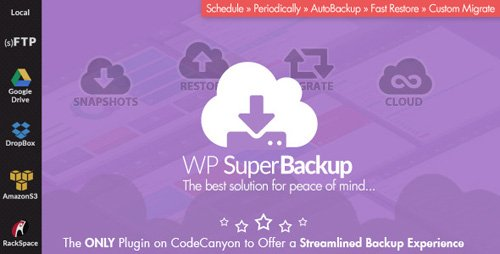 CodeCanyon - Super Backup & Clone v2.2 - Migrate for WordPress - 12943030