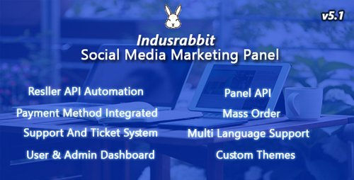 CodeCanyon - Indusrabbit v4.1 - SMM Panel - 19821624
