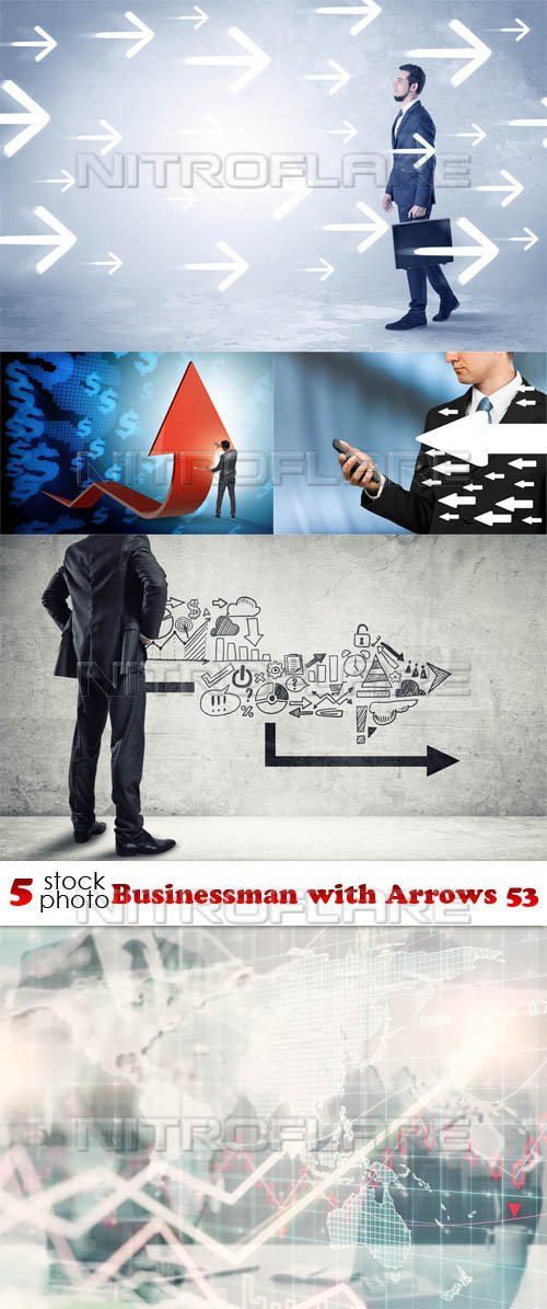 Photos - Businessman with Arrows 53
