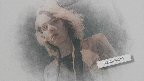 Hand Drawn Sketch Photo - Project for After Effects (Videohive)