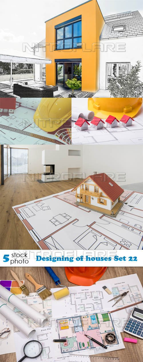 Photos - Designing of houses Set 22