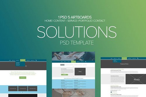 Solutions PSD Template - CM 2122527