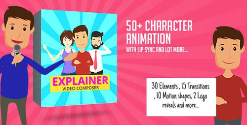 Character Animation Composer - Explainer Video Toolkit - Project for After Effects (Videohive)