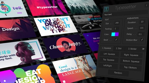 Typesetter - After Effects Scripts (Videohive)