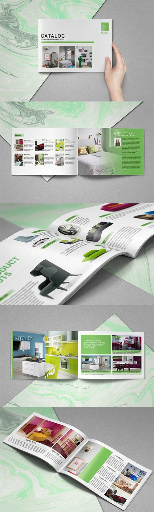 CreativeMarket - Product Catalogs Brochure 2219543