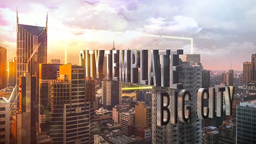 Titles of City - Project for After Effects (Videohive)
