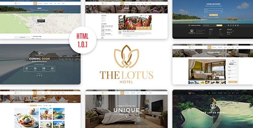 ThemeForest - Lotus v1.0.1 - Hotel Booking HTML Template - 17689053