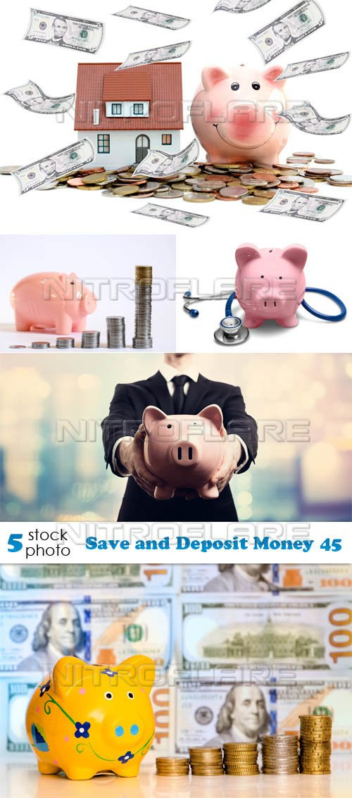 Photos - Save and Deposit Money 45