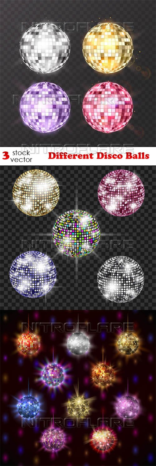 Vectors - Different Disco Balls