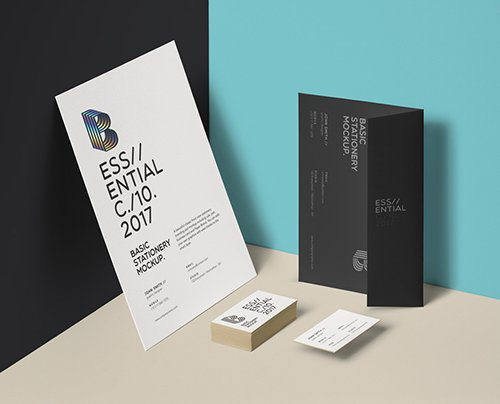 Basic Stationery Branding Vol 19 PSD