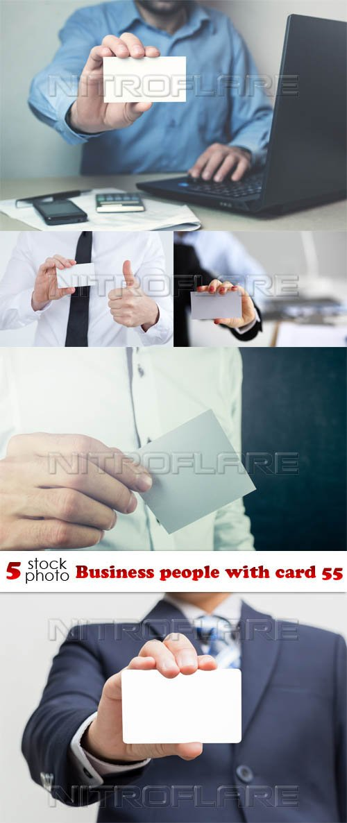 Photos - Business people with card 55