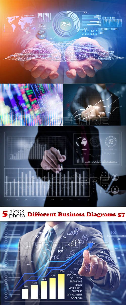 Photos - Different Business Diagrams 57