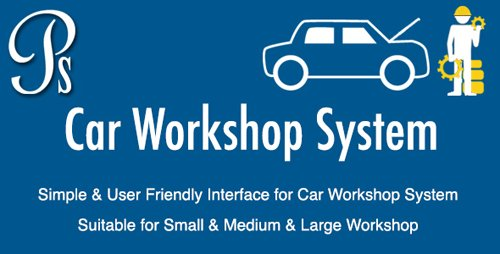 CodeCanyon - Car Workshop System v1.0 - 19562074