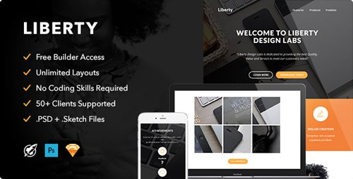ThemeForest - Liberty v1.0 - Responsive Email + Themebuilder Access - 12756752