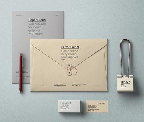 Basic Stationery Branding Vol 22 PSD