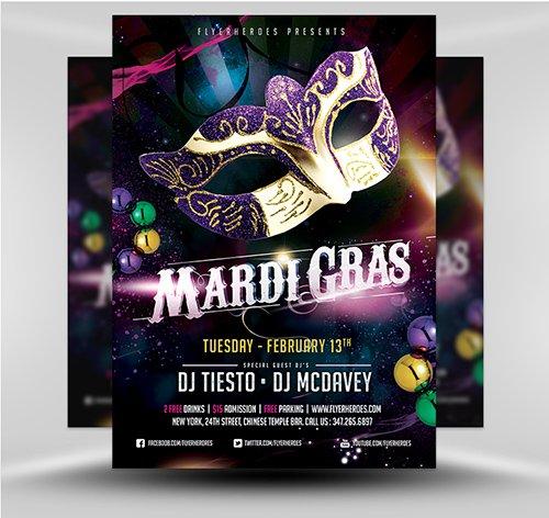 PSD Mardi Gras Flyer v1