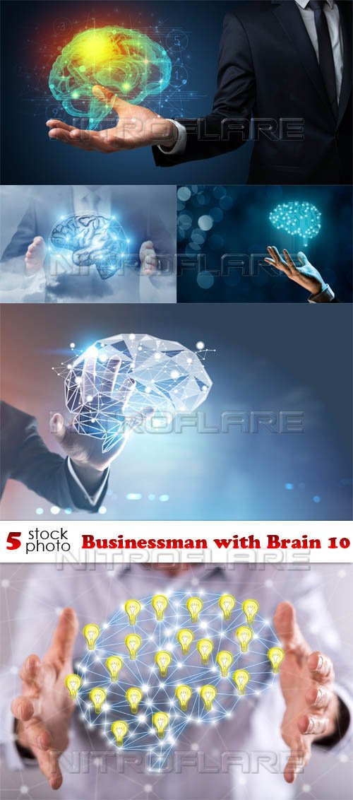 Photos - Businessman with Brain 10