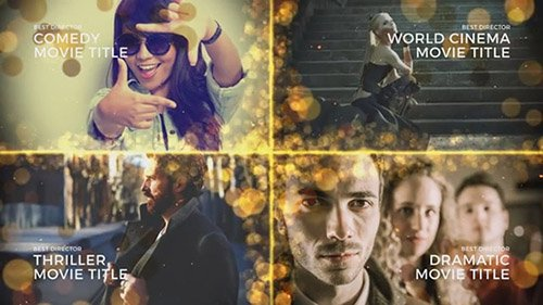 Golden Awards 4K Event Pack - After Effects Templates