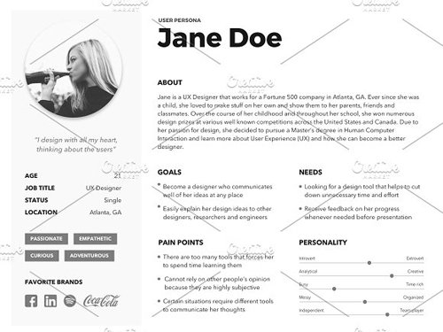 User Persona Template - CM 2247839