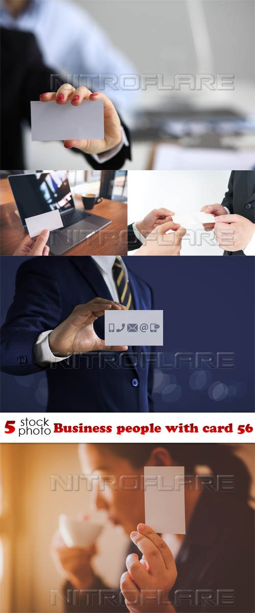 Photos - Business people with card 56
